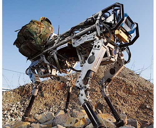 big dog army robot bigdog