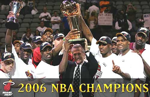 miami heat champ nba 2006