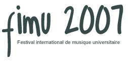 FIMU 2007 UTBM Festival International de Musique Universitaire concerts etudiants live