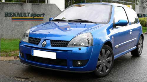 renault clio rs sport 2004 CS chassis sport clio rs dci gay 2005 clio rs3