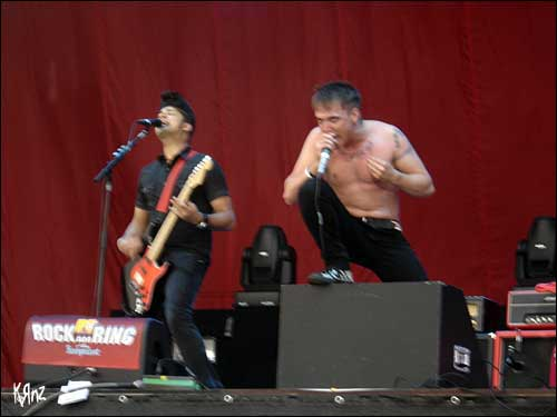 photo photos pics rock am ring 2007 billy talent Benjamin Kowalewicz