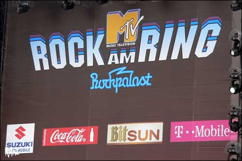 logo rock am ring 2008 2007 RAR MTV SWR3 nurburgring germany allemagne