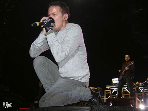 linkin park rock am ring live 2007 Brad Delson Dave Phoenix Farrell