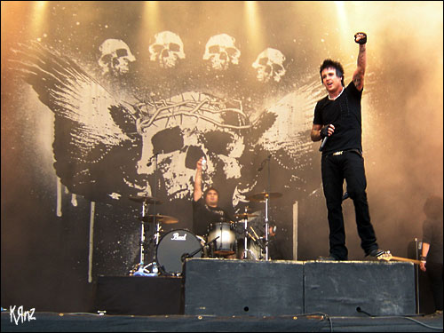 papa roach live rock am ring 2007 photos