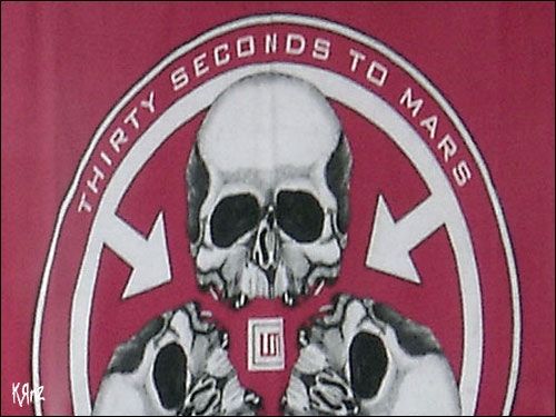 Thirty seconds to mars rock am ring 2007 live logo