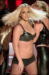 britney spears bikini mtv vma 2007 gimme more live pix photos