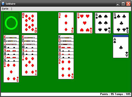 bug buggue solitaire windows demineur jeu gratuit