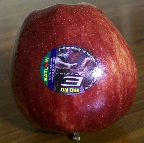 pub spiderman 3 dvd pomme apple