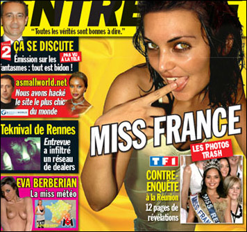 photos miss france 2008 nue valerie begue nu entrevue nude pix