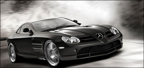 McLaren Mercedes SLR 722 photos roadster