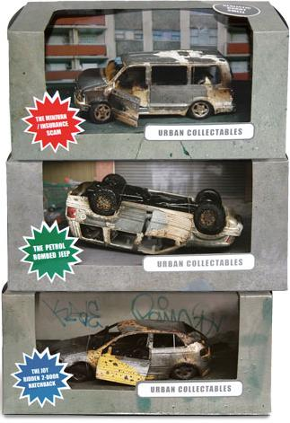 modeles reduits voitures miniatures accidentees accident crash car test mini rc