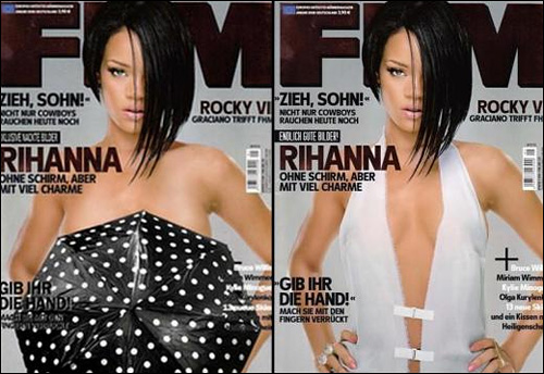 Rihanna photos nue fhm