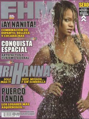 Rihanna Riana photos nue fhm pictures nude