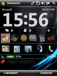windows mobile 6 rom aje_fr aje uspl htc p3300 artemis spv m650