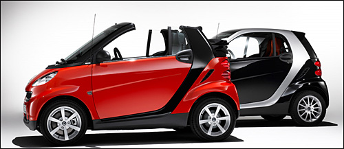 smart fortwo coupe cabriolet voiture volee mercedes