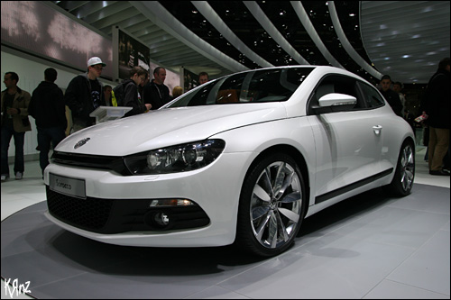 photo Volkswagen Scirocco salon auto geneve 2008