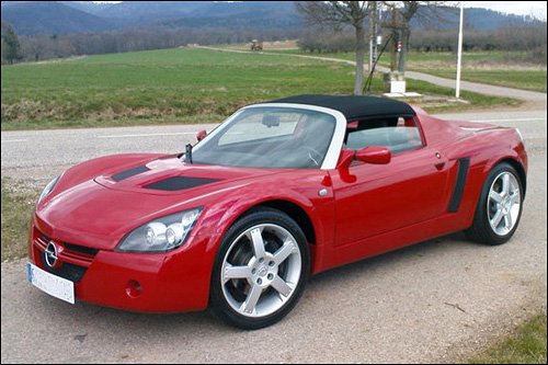 photo opel speedster speedy atmo turbo rouge
