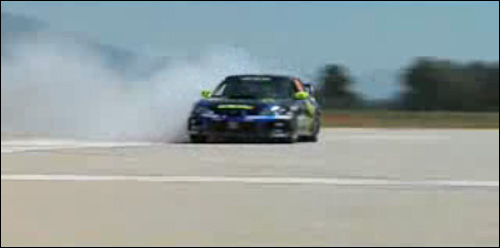 photo ken block drift subaru impreza wrx sti