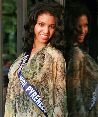 photo miss france 2009 chloe mortaud miss albigeois midi pyrenees photo