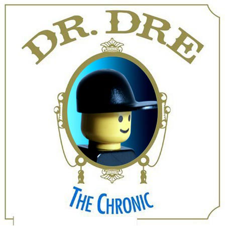 cd cover lego rap dr dre chonic us hip hop