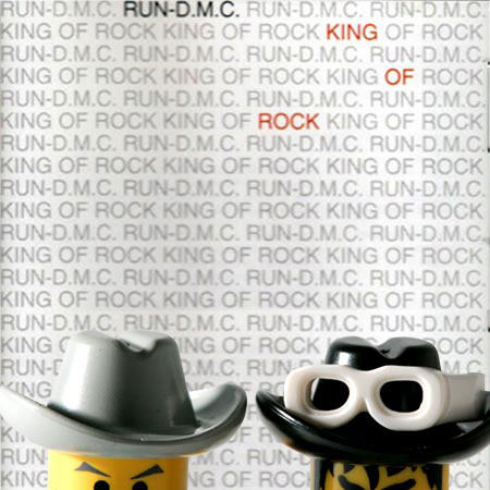 cd cover lego run dmc king of rock us hip hop