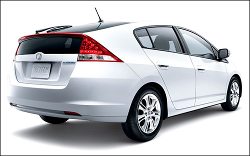 photo honda insight hybride propre arriere