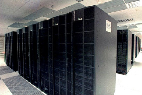 photo datacenter supercalculateur total ibm