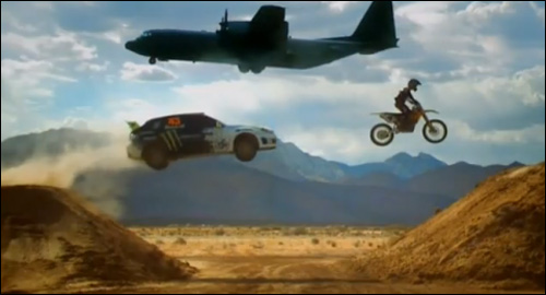 photo subaru impreza ken block top gear james may avion moto voiture