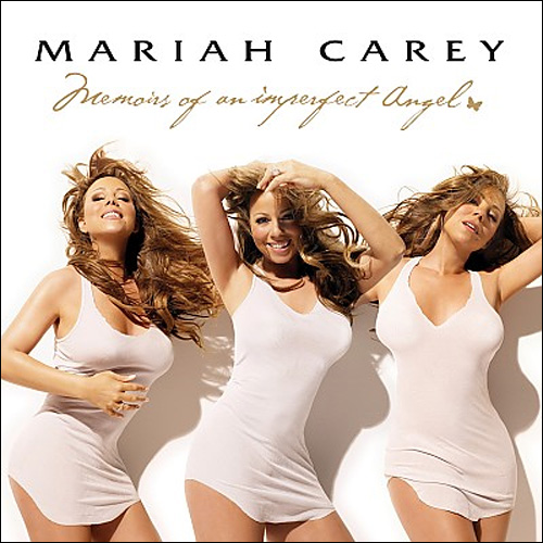 nouveau album mariah carey memoirs imperfect angel cover pochette photo