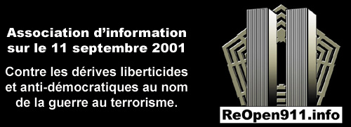 reopen 911 logo polemique 11 septembre