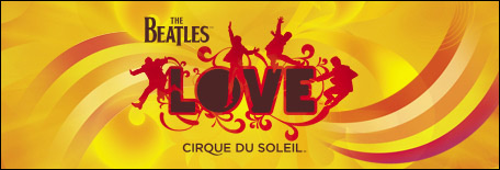 cirque du soleil hotel casino mirage affiche beatles love