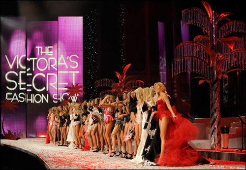 photo victoria secret fashion show 2009