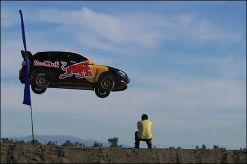 crash subaru impreza wrx wrc red bull travis pastrana