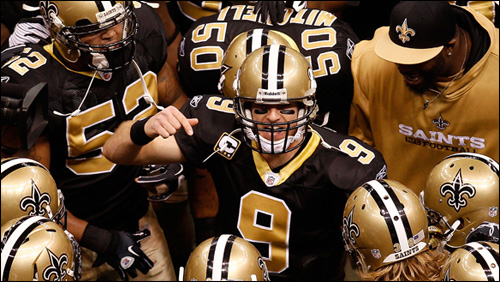 photo video superbowl new orleans saints indianapolis colts