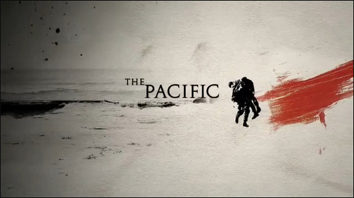 the pacific affiche band of brothers