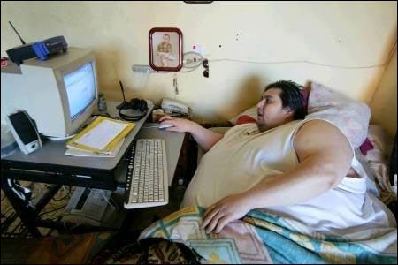 Manuel Uribe record homme le plus gros du monde 500kg Mexicain photo