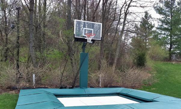 slamball basketball trampoline