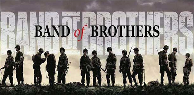 band of brothers affiche freres armes