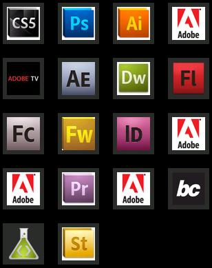 Adobe CS5 programmes
