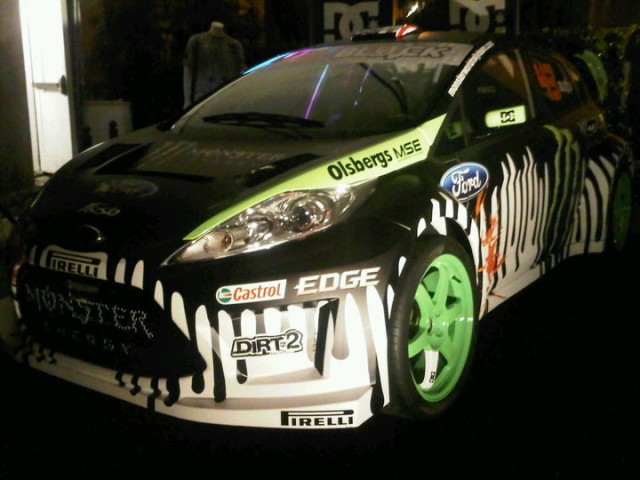 Ken Block Ford Fiesta photo