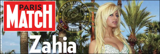 paris match zahia dehar header