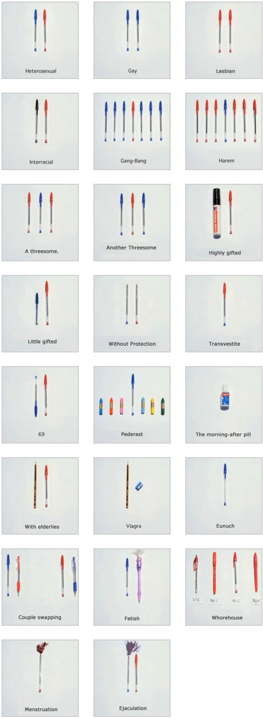 sexe stylo bic