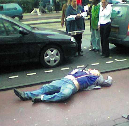 van gogh assassinat photo