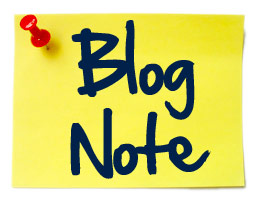 blog-note.com Blog Note logo post it