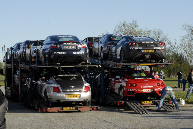 Gumball 3000 transport photo