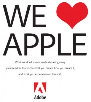 adobe aime apple