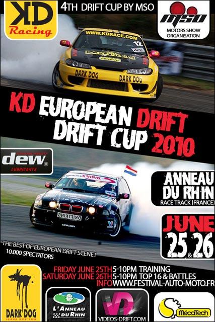 european drift cup affiche