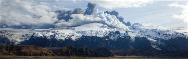 photo volcan islande
