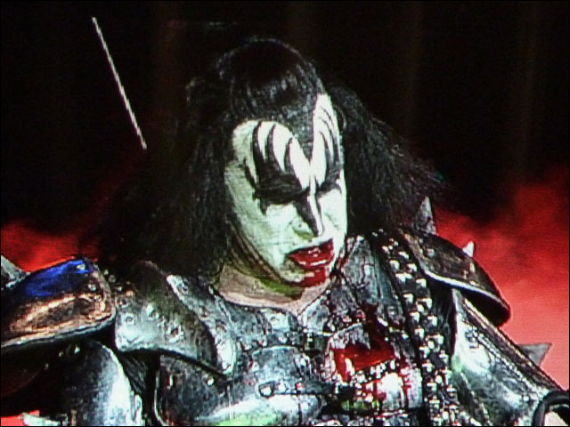 Kiss photo concert live rock am ring rock im park 2010 RAR RIP