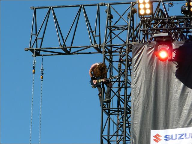 airbourne live concert photo rock am ring 2010 rock im park video